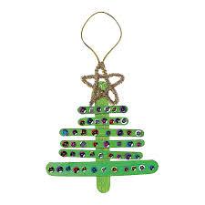 Wooden Christmas Tree Ornament Craft Kit.