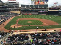 Target Field Baseball Seating Chart Target Field Section D Home Of Minnesota Twins