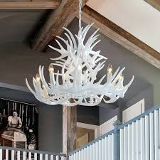 modern antler chandelier used antler chandelier white chandelier bathroom decoration medium
