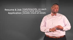 Bryle S 5 Job Ready Resume Tips Youtube