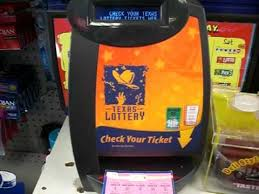 Lottery Ticket Vending Machine Delectable Using The Texas Lottery 'Check A Ticket' Machine To Scan A Winning