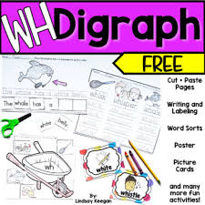 Vowel worksheets for preschool and kindergarten, including beginning vowels, short vowels, long vowels and part of a free preschool and kindergarten worksheet collection of phonics and reading. Digraph Worksheets Wh Freebie By Lindsay Keegan Tpt