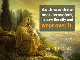 As Jesus drew near Jerusalem, he saw the... - Holy Bible Project | Facebook
