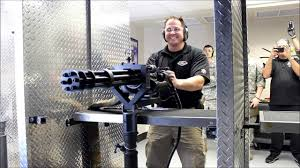 Shoot A Minigun At Battlefield Vegas ...