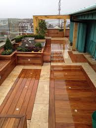 patio floor lighting. image of amusing patio wood flooring squares with lots ground level led lights from screwfix floor lighting e