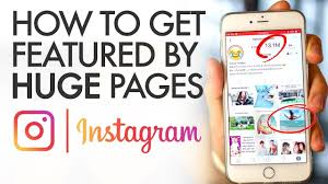 How to Get Featured on Huge Instagram Pages - YouTube