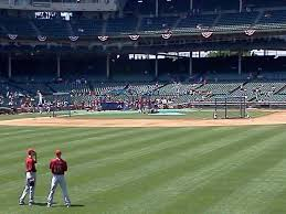 Wrigley Field Section Bleachers Row 1 Seat 4 Chicago