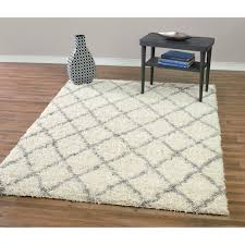 striped rugs wayfair design era modern moroccan trellis ivory and grey gy area rug home