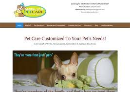 Pet Sitter Profile Examples 7 Examples Of Pet Sitter Websites That Perfectly Connect