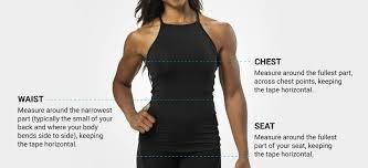 Womens Body Chart Women Better Bodies No