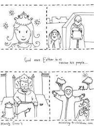 Story Of Esther Coloring Page