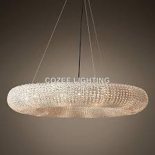 round crystal chandelier modern chandeliers lighting round crystal chandelier halo hanging light for home hotel living round crystal chandelier