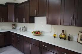 cost to paint kitchen cabinets with wooden matter of dark color