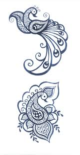 Indian Peacock Design Pin By Susan Mary On Peacocks Henna Tattoo Designs Henna