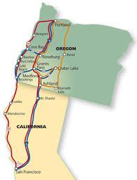 Southern Oregon Sample Tour Itineraries