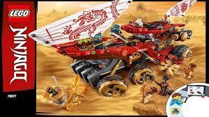 LEGO instructions - Ninjago - 70677 - Land Bounty - YouTube