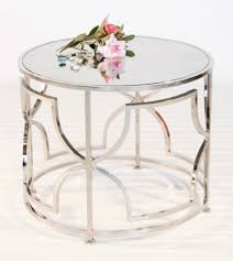mirror accent table. mirrored coffee table look 4 less and steel round plantation design mykonos side mirror accent c