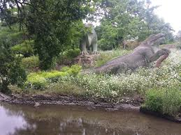 Commissioned in 1852 and unveiled in 1854, they were the first dinosaur sculptures in the world. The Last Weekend Edition Dinosaurs Being Erica