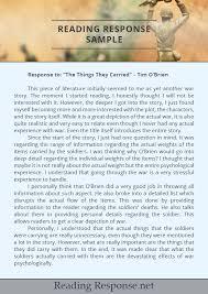 reader response essay examples essay writing on my school art knapp prince george response