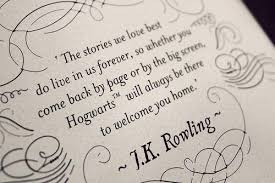 Harry Potter Quotes Love Mesmerizing Harry Potter Quote JK Rowling Harry Potter Studio Tour
