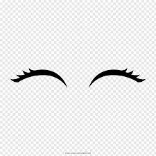 Eyelash Graphic Design Eyebrow Eyelash Drawing Coloring Book Eye Free Png Pngfuel