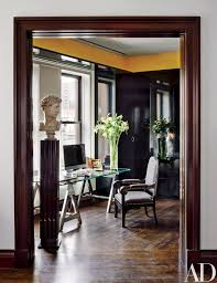 home office decorating ideas nyc. In A Nicholas Kilner\u2013designed New York Penthouse, An 18th-century Bust Overlooks The Office\u0027s Ralph Lauren Home Desk And 19th-century Russian Armchair. Office Decorating Ideas Nyc I