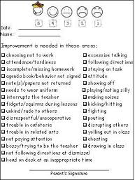 Behavior Chart This Is A Contract You Can Use For When A