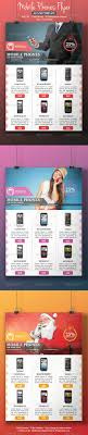 cell phone flyer template by blogankids graphicriver cell phone flyer template commerce flyers
