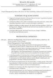 best project manager cover letter ideas project sample resume for project management focus on team leadership analysis and customer care
