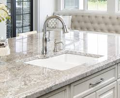 kitchen sink set in granite countertop by c d granite minneapolis mn