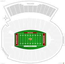 Camp Randall Stadium Wisconsin Seating Guide