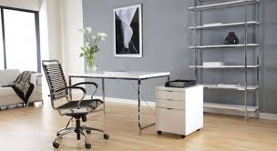 decorations chic modern home office design ideas with rectangle white modern laminated chair also black cozy modern laminated stainless steel work chair black white office contemporary home office