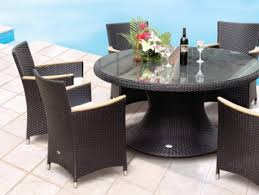 helena 60 inch round table with 4