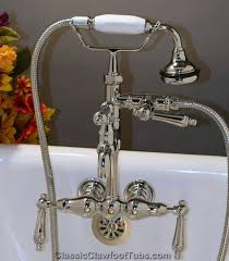 clawfoot tub faucet with handheld shower. classic leg tub faucet with hand held shower clawfoot handheld s