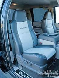 2008 ford f250 super duty seats