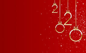 Wallpaper Of New Year New Year 2020 Red Background Hd Image