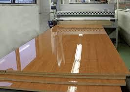 hotcoating machine producing high gloss panels wood furniture r88 gloss