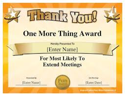 Certificates Funny Custom Award Certificate 18 Best Funny Employee Awards Images On