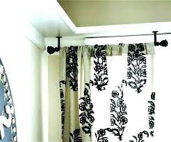heavy door curtain curtain rod for metal door heavy heavy door curtains lined