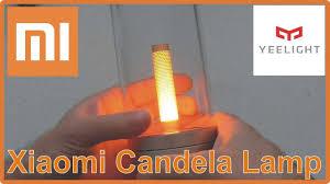 Xiaomi Yeelight Candela Lamp - новый умный <b>светильник</b> Xiaomi ...
