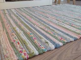 alluring washable cotton rugs at recycled pastel light multi colours soft rag rug a