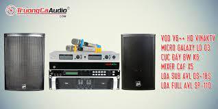 Dàn karaoke gia đình cao cấp chuyên nghiệp, dịch vụ miễn phí
