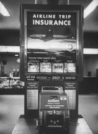 Vending Machine Insurance New What Was An Insurance Vending Machine At An Airport And What Kind
