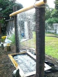 outdoor wall water fountains enjoyable design ideas outdoor wall fountain