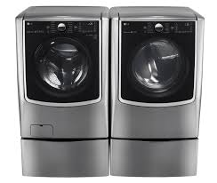 best washer dryer. Best Smart Front-Loading: LG 5.2 Cu. Ft. Washer With Steam And 9.0 Dryer