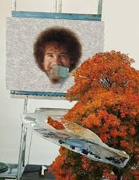 a happy little tree painting bob ross