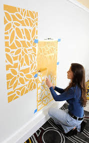 roller stenciling tips how to stencil