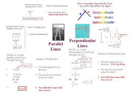 59 parallel lines perpendicular lines