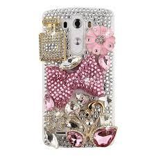 Mobile Cover Designs Handmade Spritech Tm Lg G Stylo Hard Case Bling Crystal 3d Handmade Rhinestone Design Clear Phone Cover For Lg G Stylo