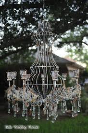 large vintage candle chandelier